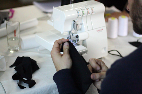 man on the overlock