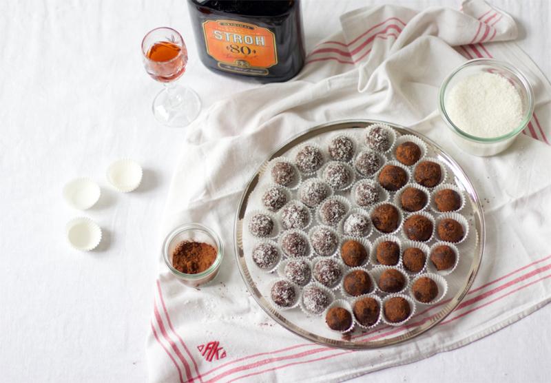 Rumkugeln kekse rezept