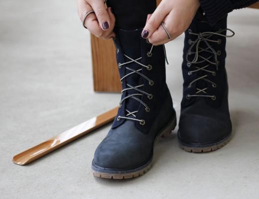 timberland teddy fleece boots | h.anna