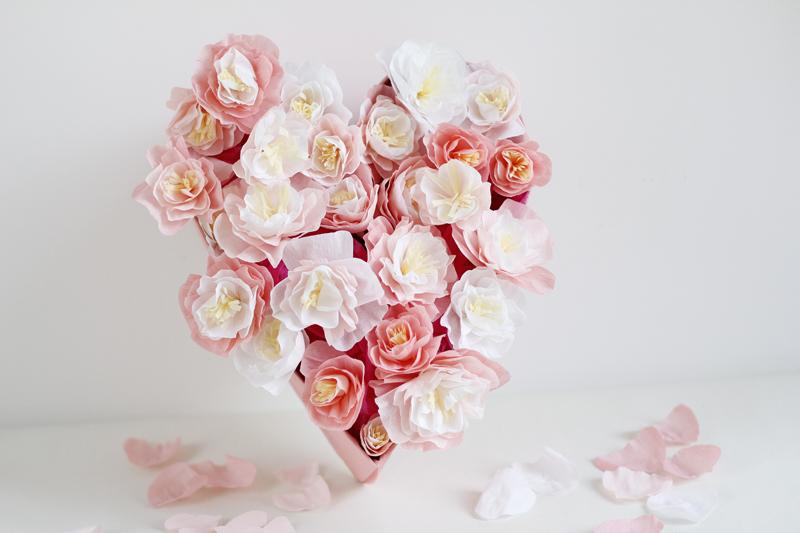 Papierblumen selbermachen | h.anna