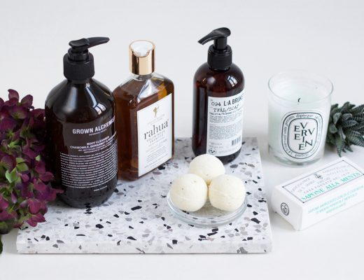 fall bathroom essentials | h.anna